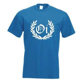 Laurèl Kiwistar OI! Wreath Punk Hardcore T-Shirt Men Design Gift