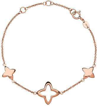 Links of London Rose Gold Splendour Cut-Out Star Bracelet