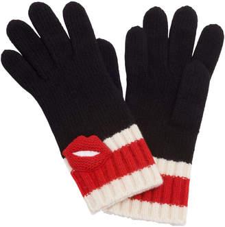Henri Bendel Cashmere Lips Gloves