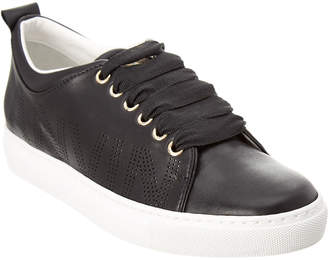 Lanvin Perforated Leather Sneaker