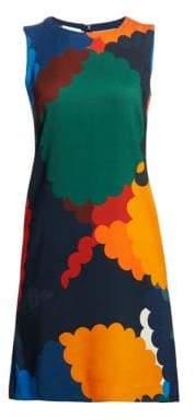 Akris Punto Multicolour Printed Shift Dress
