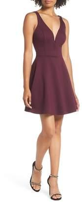 LuLu*s Love Galore Skater Dress