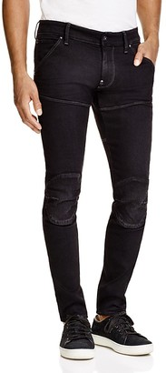 G-STAR RAW 5620 3D Super Slim Fit Jeans in Dark Aged $180 thestylecure.com