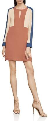 BCBGMAXAZRIA Cori Color-Block Dress