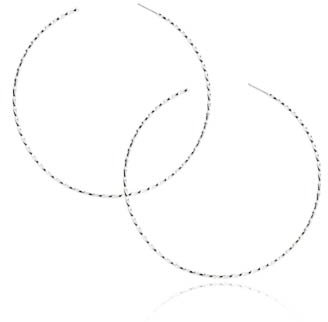 Forever 21 Twisted Four Inch Hoops