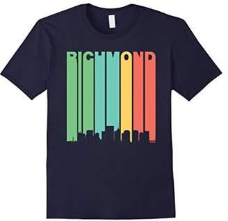 Richmond Retro 1970's Virginia Downtown Skyline T-Shirt