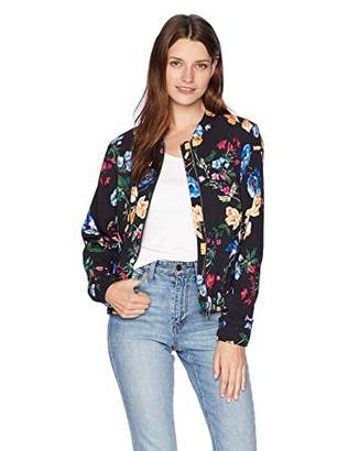 Parker Women's Gabe Long Sleeve Bomber Jacket