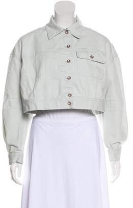 Acne Studios Denim Collared Jacket