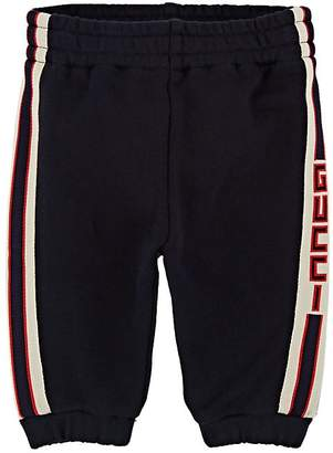 Gucci Infants' Logo Cotton French Terry Sweatpants