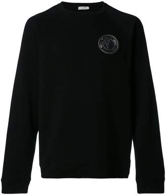 Versace Medusa patch sweatshirt