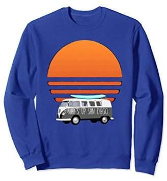 Vintage Sweatshirt Surf's Up San Diego Cali Beach Shirt