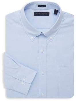 ebefbe87ee71e2 Tommy Hilfiger Blue Men s Shirts - ShopStyle