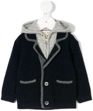 Cashmirino Cashmere layered jacket