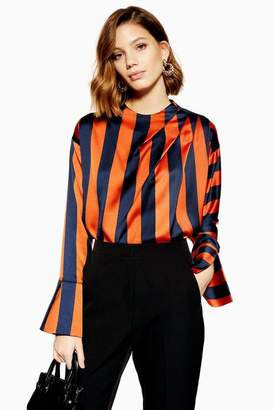 Topshop Wide Stripe Blouse