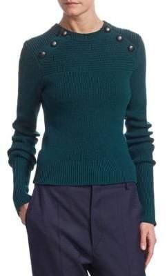 Etoile Isabel Marant Koyle Button Detail Sweater