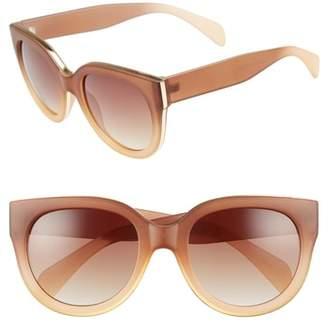 Leith 54mm Round Sunglasses