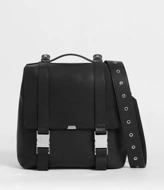 AllSaints Clip Leather Backpack