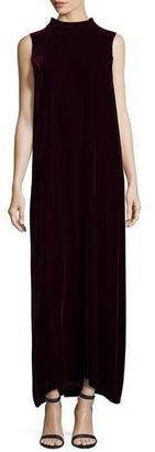 Lafayette 148 New York Ellen Sleeveless Mock-Neck Column Dress $698 thestylecure.com