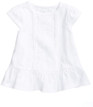 First Impressions Eyelet Cotton T-Shirt, Baby Girls, Created for Macy's