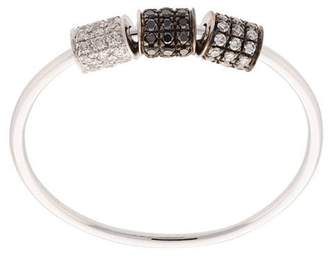 Ef Collection tonal diamond triple tube ring