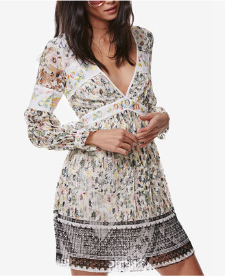 Free People Cherry Blossom Embroidered Peasant Dress $168 thestylecure.com