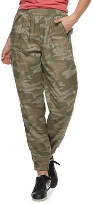 63b96eca6ba2f So Juniors  SO Zip-Pocket Twill Low-Rise Jogger Pants