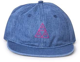 HUF Formless Denim Triple Triangle Hat Blue