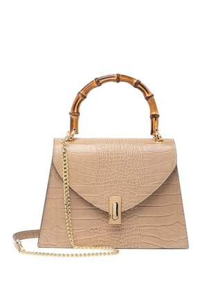Persaman New York Leticia Bamboo Handle Mini Bag