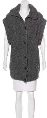 Maison Margiela Alpaca Knit Cardigan