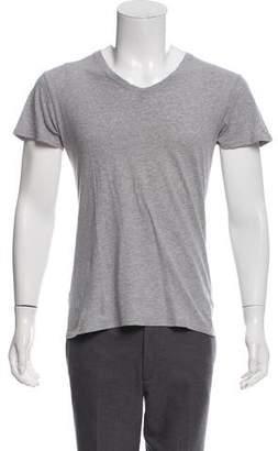 Balmain Woven V-Neck Shirt