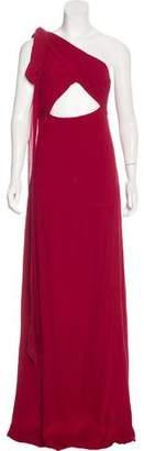 Saint Laurent Silk Evening Dress