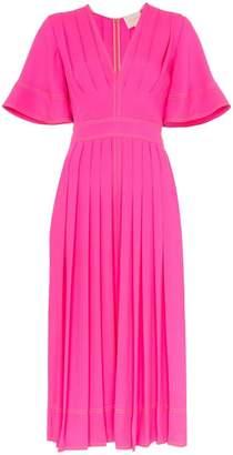 Roksanda silk Xandra pleated midi dress