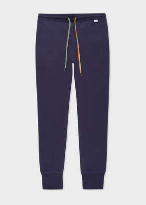 Paul Smith Men's Navy Cotton Jersey Lounge Pants