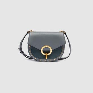 Sandro Pepita bag, small model with studs