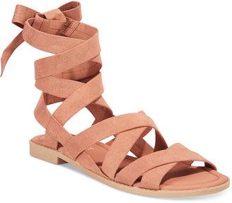 Esprit Skylar Strappy Sandals $39 thestylecure.com