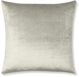 Williams-Sonoma Velvet Pillow Cover, Gray