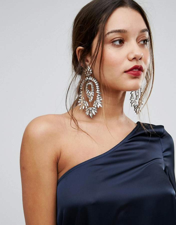 ALDO Statement Crystal Drop Earrings