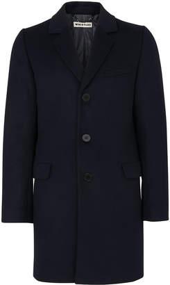 Whistles Classic Melton Overcoat