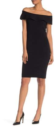 4670cc9510df Elie Tahari Ruthie Off-the-Shoulder Bodycon Sweater Dress