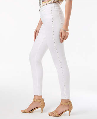 Style&Co. Style & Co Curvy-Fit Studded Skinny Jeans, Created for Macy's