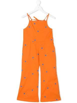 Tiny Cottons square logo print jumpsuit