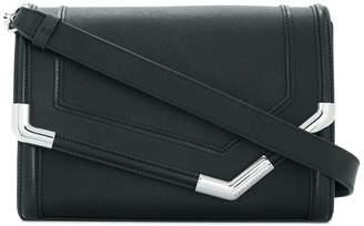 Karl Lagerfeld Paris Rocky Saffiano shoulder bag