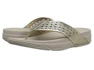 FitFlop Surfatm Floral Lattice Toe Post Women's Sandals