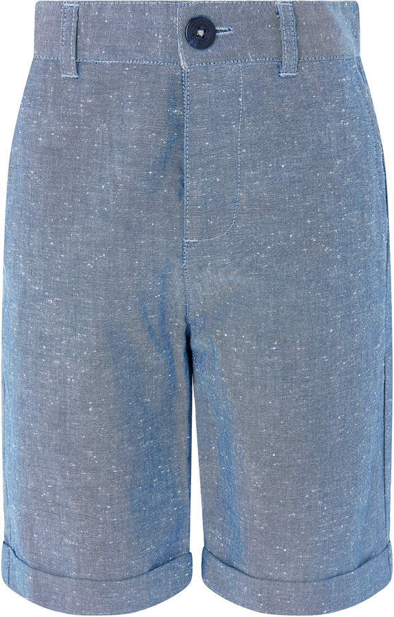 Don Chambray Shorts