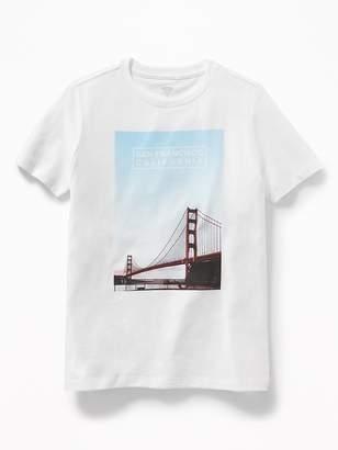 "Old Navy ""San Francisco California"" Graphic Tee for Boys"