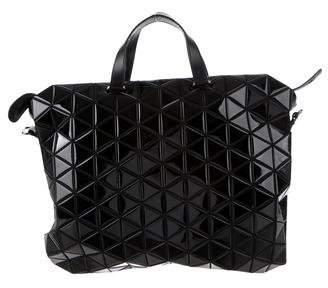 Bao Bao Issey Miyake Tonneau Gloss Boston Bag