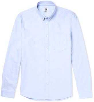 NN07 Sixten Slim-Fit Button-Down Collar Cotton Oxford Shirt