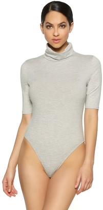 Jezebel Women's Velvet Touch Turtleneck Bodysuit 900218