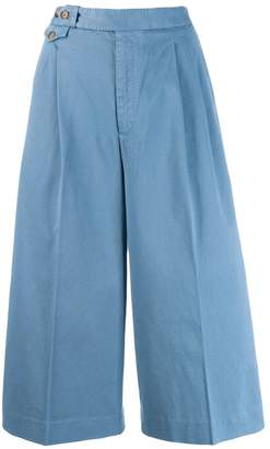 Polo Ralph Lauren cropped wide-leg trousers