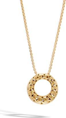 John Hardy Classic Chain 18k Pendant Necklace